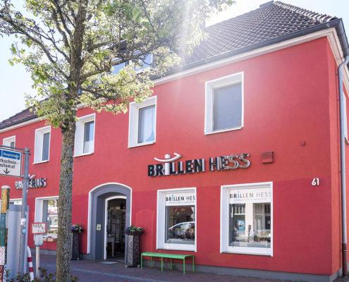 Optiker Brillen Hess Oldenburg Außenansicht Geschäft