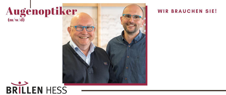 Jobs bei Optiker Brillen Hess